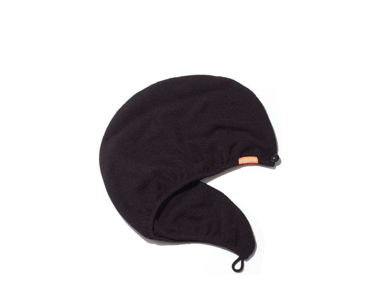 Aquis Rapid Dry Hair Turban in Black   Shop now on @violetgrey https://www.violetgrey.com/product/aquis-hair-turban/AQU-AQP1330BLK