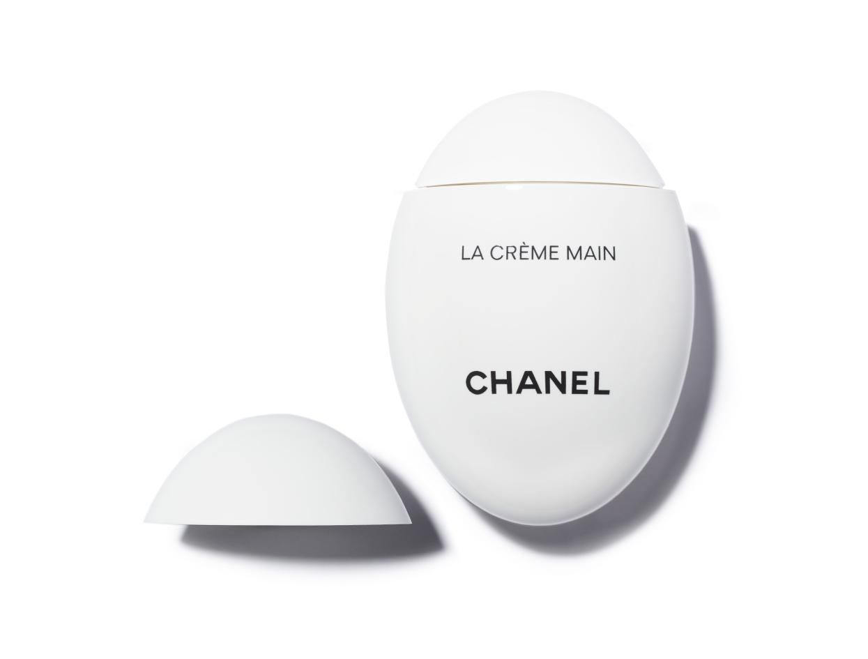 Chanel La Crème Main Hand Cream   Shop now on @violetgrey https://www.violetgrey.com/product/la-creme-main-hand-cream/CHN-140350