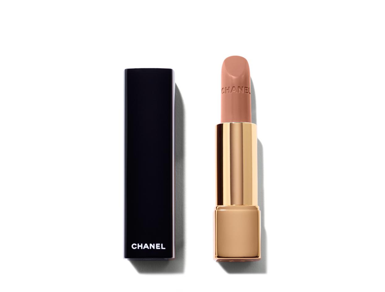 Chanel Le Rouge Collection Rouge Allure Intense Long-Wear Lip Colour in Rouge Ingénue | Shop now on @violetgrey https://www.violetgrey.com/product/le-rouge-collection-rouge-allure-intense-long-wear-lip-colour/CHN-160168