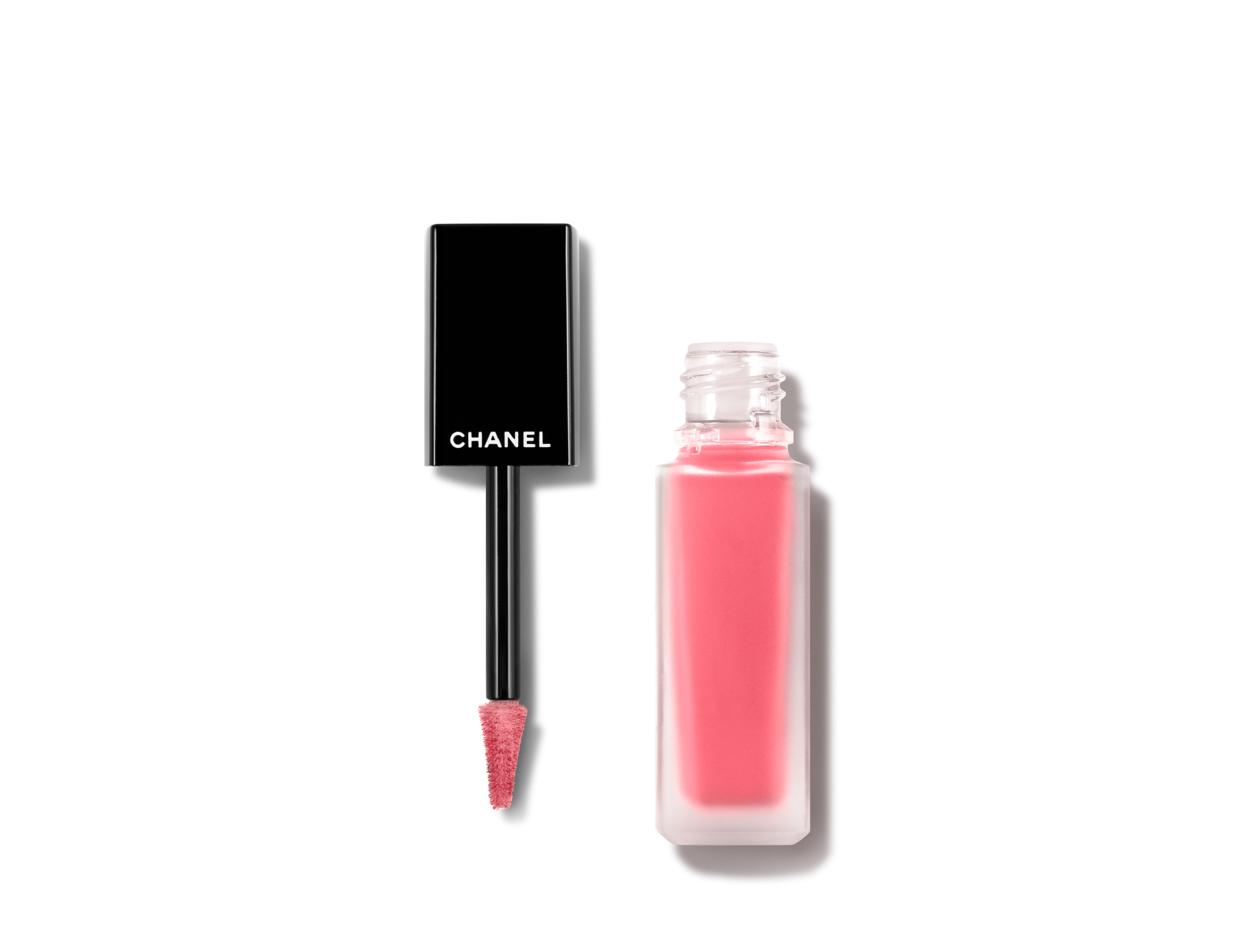 Chanel Rouge Allure Ink Matte Liquid Lip Colour in 142 Créatif   Shop now on @violetgrey https://www.violetgrey.com/product/rouge-allure-ink-matte-liquid-lip-colour/CHN-165142