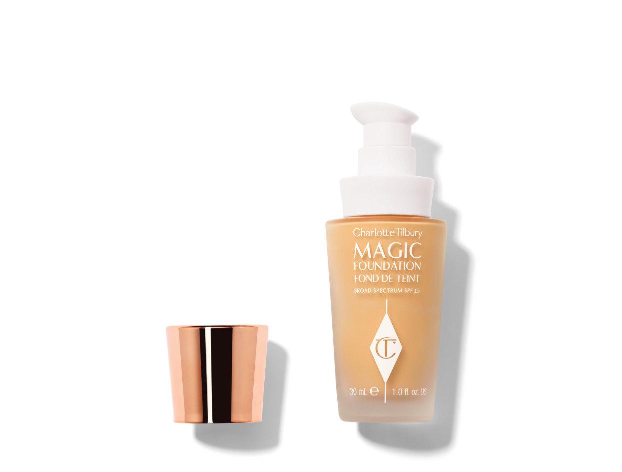 Charlotte Tilbury Magic Foundation in 4.5 Medium | Shop now on @violetgrey https://www.violetgrey.com/product/magic-foundation/CHT-FMFDX30X7R23