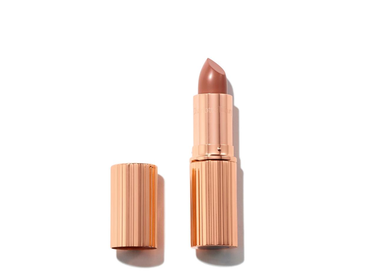 Charlotte Tilbury K.I.S.S.I.N.G Lipstick in Bitch Perfect | Shop now on @violetgrey https://www.violetgrey.com/product/kissing-lipstick/CHT-LSTK35DX4R45