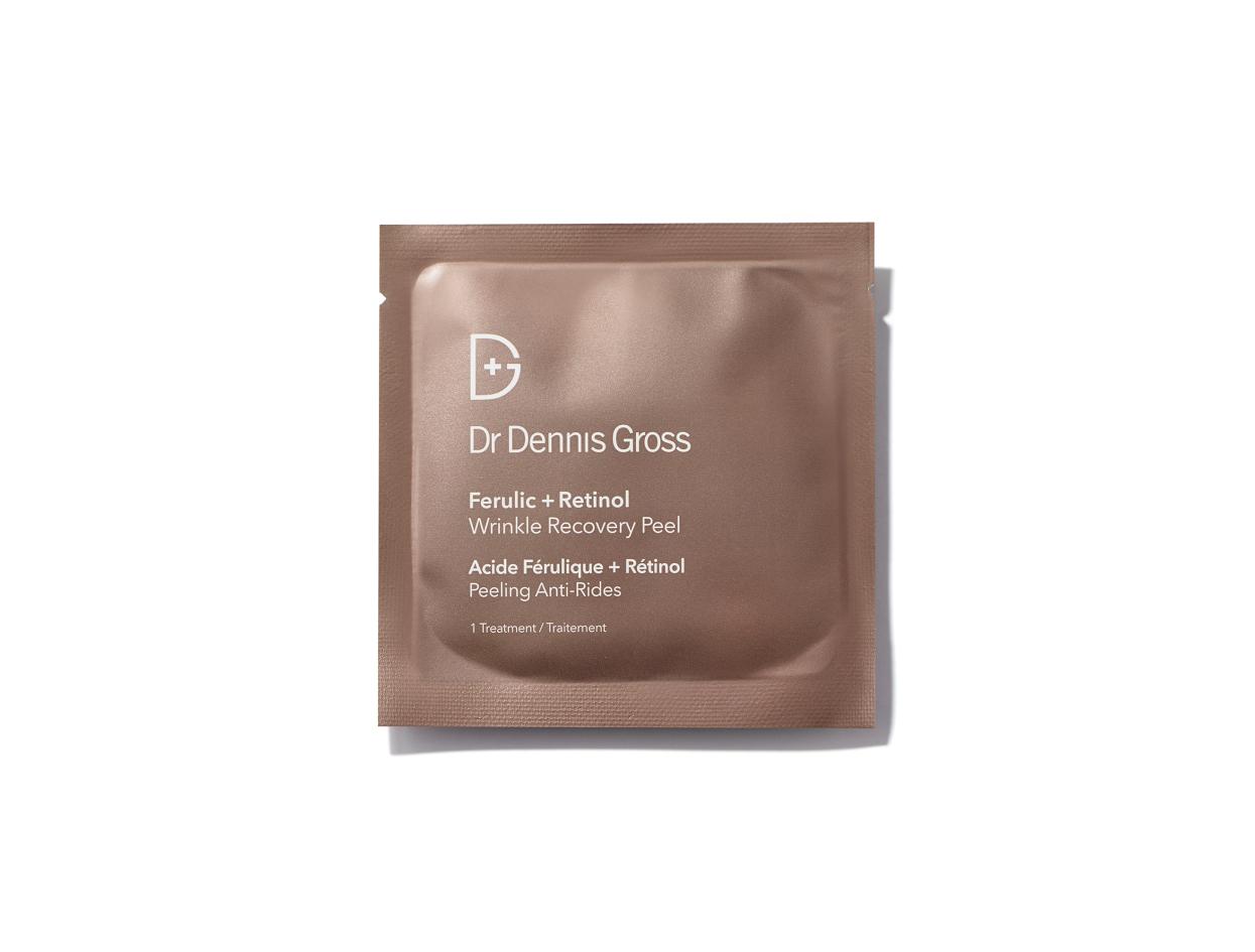 Dr. Dennis Gross Ferulic + Retinol Wrinkle Recovery Peel   Shop now on @violetgrey https://www.violetgrey.com/product/ferulic-retinol-wrinkle-recovery-peel/DG-BA551010