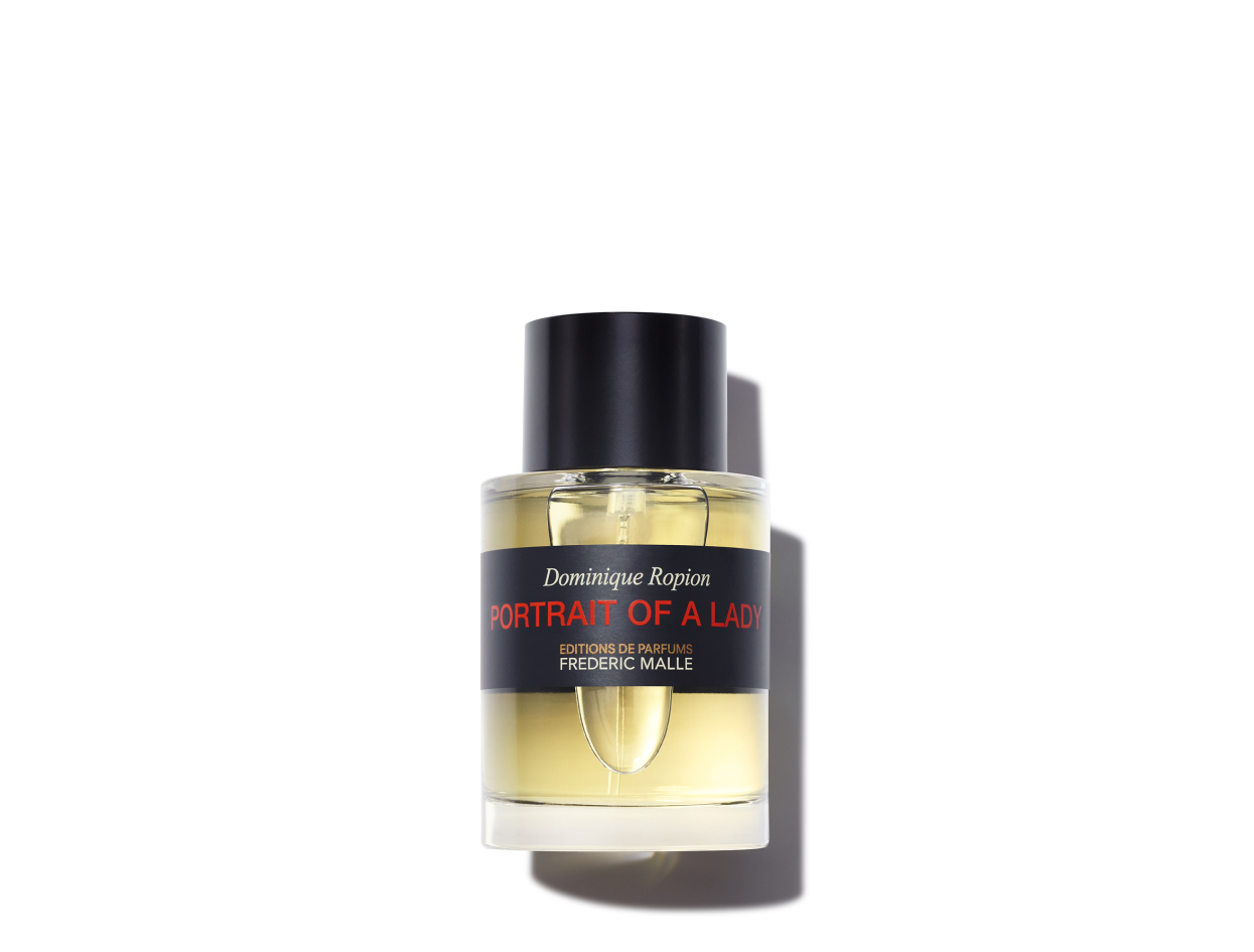 Frédéric Malle Portrait of a Lady Eau De Parfum in 3.4 oz | Shop now on @violetgrey https://www.violetgrey.com/product/portrait-of-a-lady-eau-de-parfum/FRD-H49701