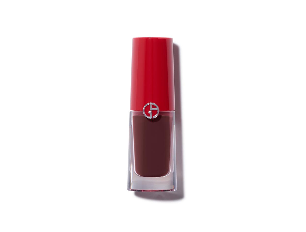 Giorgio Armani Lip Magnet Liquid Lipstick in #605 Insomnia   Shop now on @violetgrey https://www.violetgrey.com/product/lip-magnet-liquid-lipstick/GIO-T3702500