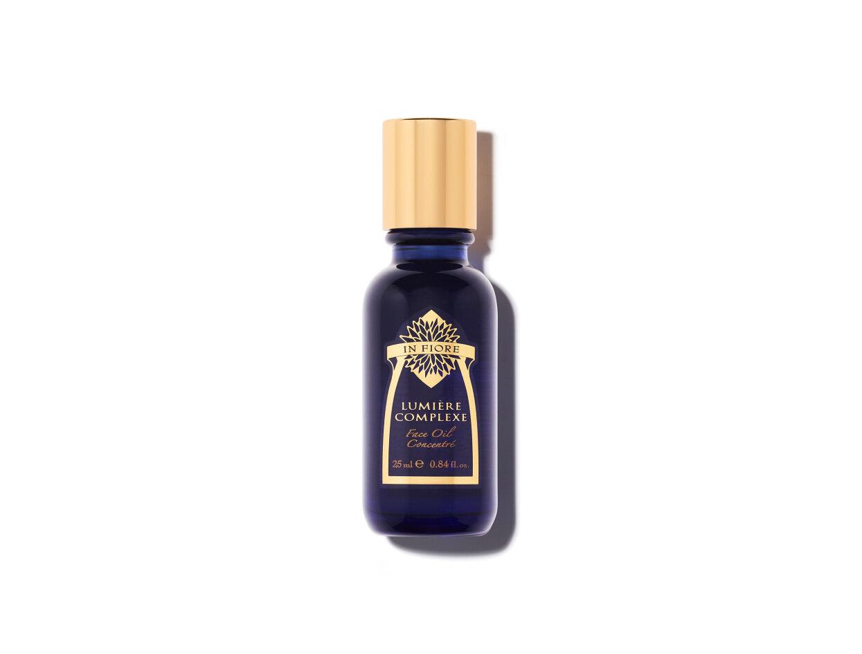 In Fiore Lumière Complexe Face Oil Concentré in 84 fl oz | Shop now on @violetgrey https://www.violetgrey.com/product/lumiere-complexe-face-oil-concentre/INF-LUMIERE-25