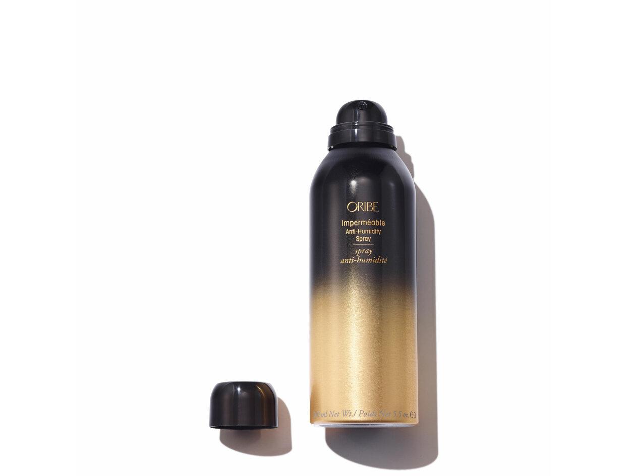 Oribe Imperméable Anti-Humidity Spray in 6.8 oz   Shop now on @violetgrey https://www.violetgrey.com/product/impermeable-anti-humidity-spray/ORI-AS-IMP-68Z-BLK