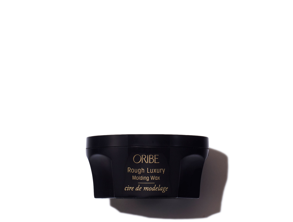 Oribe Rough Luxury Molding Wax in 1.7 oz | Shop now on @violetgrey https://www.violetgrey.com/product/rough-luxury-molding-wax/ORI-WA-ROL-17Z-BLK