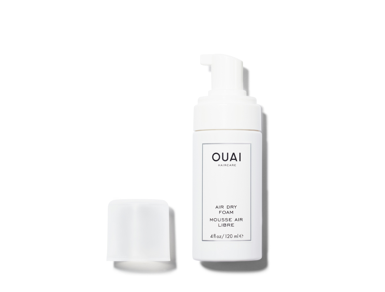 OUAI Air Dry Foam | Shop now on @violetgrey https://www.violetgrey.com/product/air-dry-foam/OUI-313