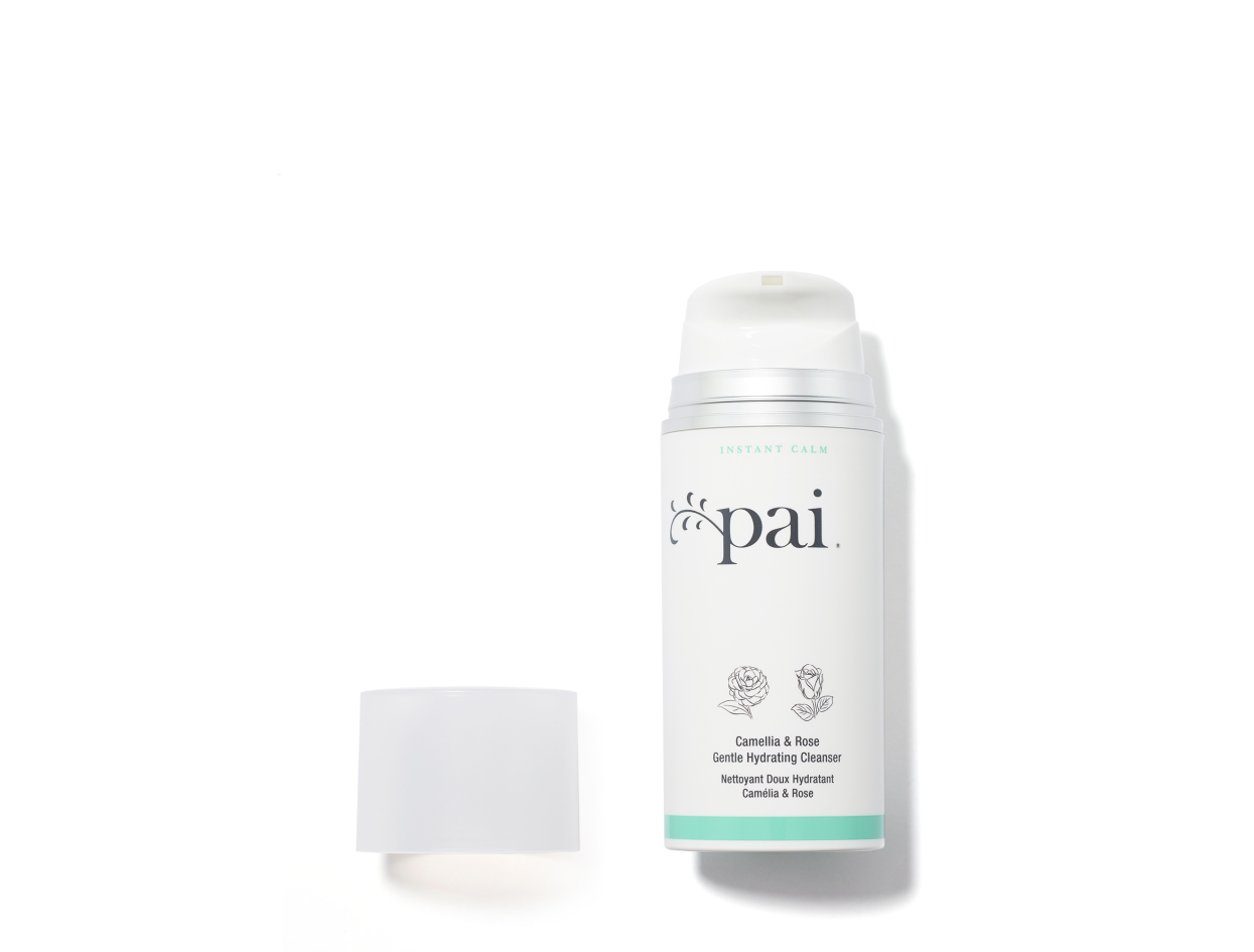 Pai Camellia & Rose Gentle Hydrating Cleanser in 3.5 oz | Shop now on @violetgrey https://www.violetgrey.com/product/camellia-and-rose-gentle-hydrating-cleanser/PAI-PAI-006