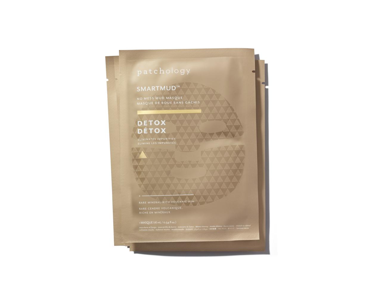 Patchology Smartmud No Mess Mud Masques: Detox Sheet Masks (4 Pack) | Shop now on @violetgrey https://www.violetgrey.com/product/smartmud-mud-masque/PAT-OGY-SMF4