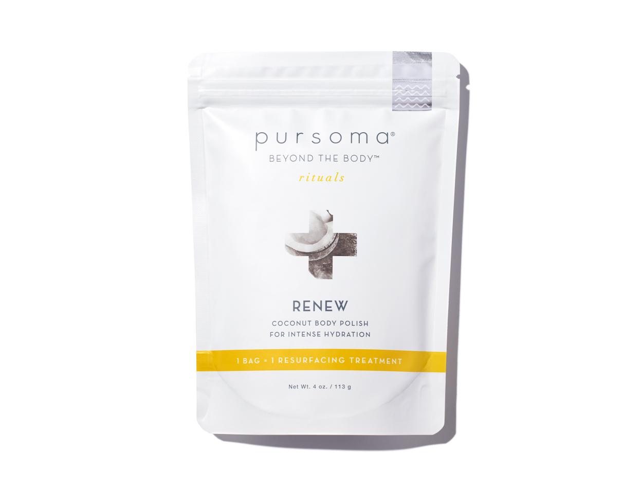 Pursoma Renew Coconut Body Polish | Shop now on @violetgrey https://www.violetgrey.com/product/renew-coconut-body-polish/PUR-8880015