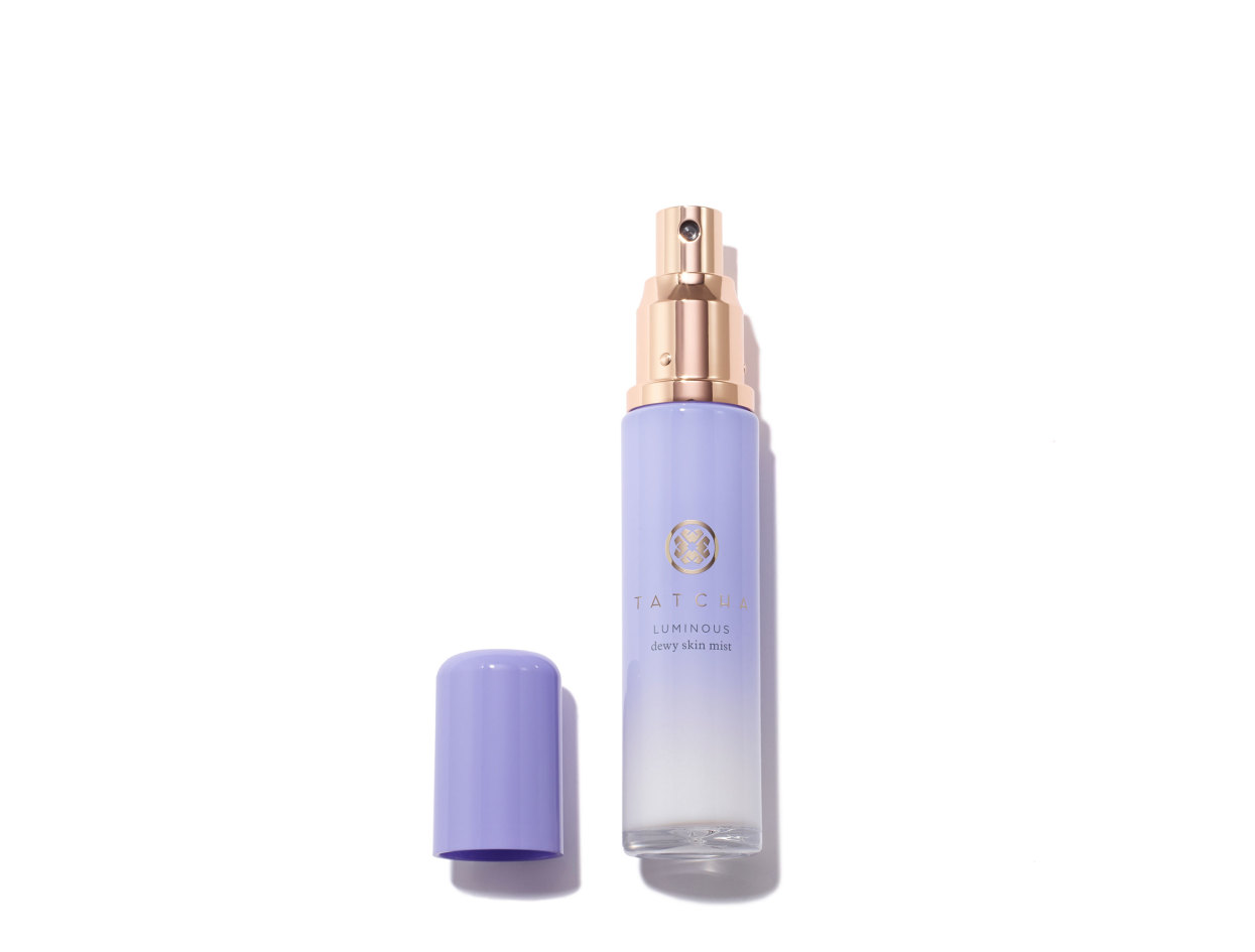 Tatcha Dewy Skin Face Mist | Shop now on @violetgrey https://www.violetgrey.com/product/dewy-skin-face-mist/TAT-SKIN-MIST