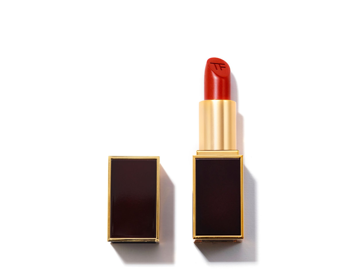 Tom Ford Lip Color in Scarlet Rouge | Shop now on @violetgrey https://www.violetgrey.com/product/lip-color-1/TOM-T0T3-16