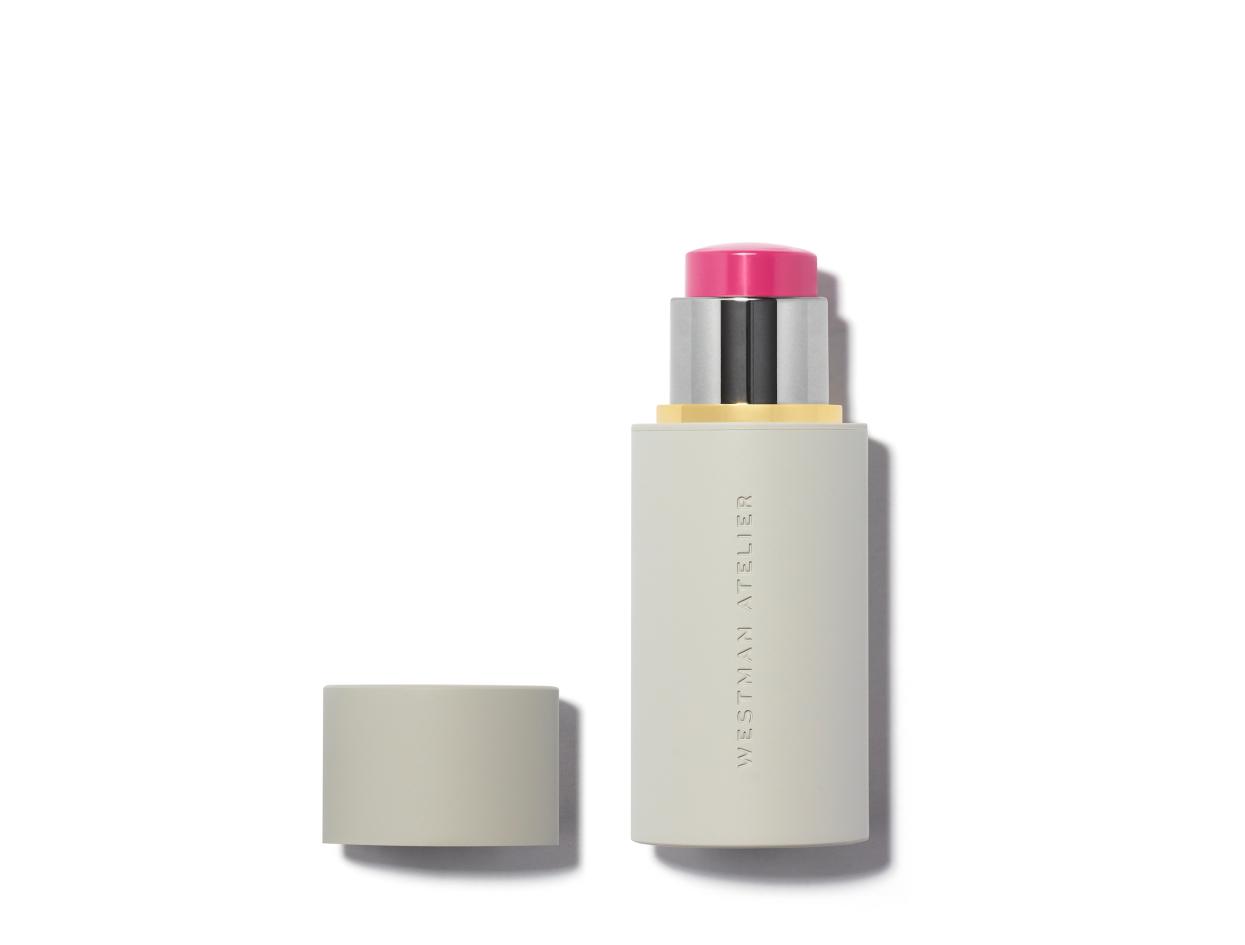 Westman Atelier Baby Cheeks Blush Stick in Poppet | Shop now on @violetgrey https://www.violetgrey.com/product/baby-cheeks-blush-stick/WES-BF2617004
