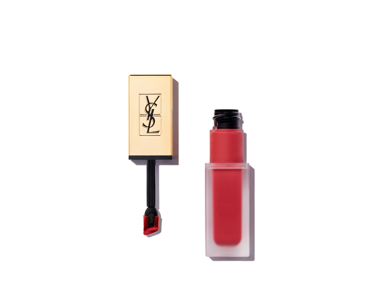 Yves Saint Laurent Tatouage Couture Liquid Matte Lip Stain in Nude Emblem | Shop now on @violetgrey https://www.violetgrey.com/product/tatouage-lip-stain/YSL-L7080800