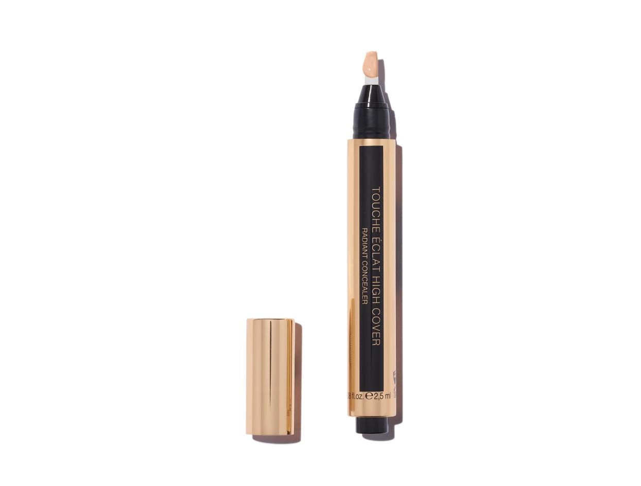 Yves Saint Laurent Touche Éclat High Cover Radiant Concealer in 1.0 | Shop now on @violetgrey https://www.violetgrey.com/product/touche-eclat-high-cover-radiant-concealer/YSL-LA134500