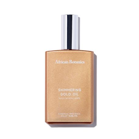 AFRICAN BOTANICS Marula Shimmering Gold Oil - 3.14 oz | @violetgrey