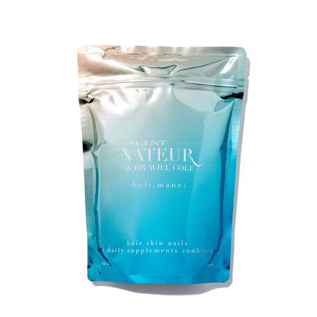 AGENT NATEUR holi (mane) Hair Skin Nails 2 Daily Supplements Combined - 390 grams | @violetgrey