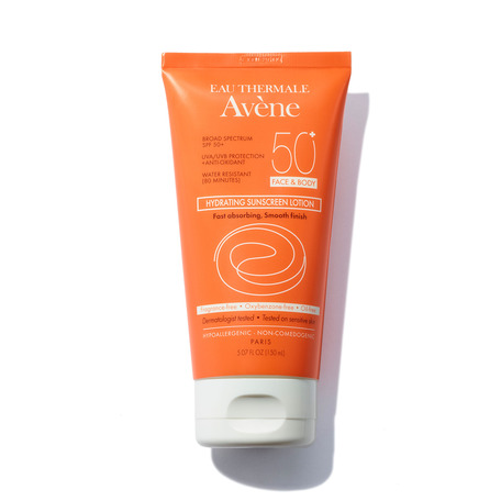 EAU THERMALE AVÈNE Hydrating Sunscreen Lotion SPF 50 - 5.07 oz | @violetgrey