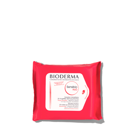 BIODERMA Sensibio H2O Wipes - 25 count | @violetgrey