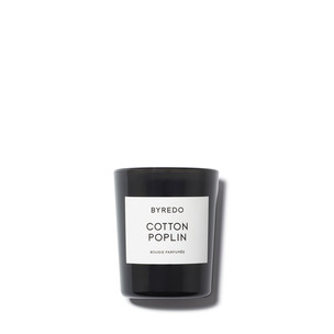 BYREDO Mini Candle - Cotton Poplin | @violetgrey
