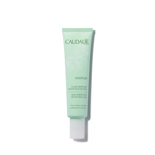 CAUDALIE Vinopure Skin Perfecting Mattifying Fluid | @violetgrey