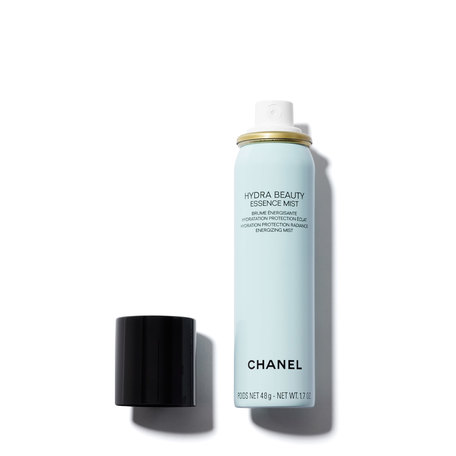 CHANEL Hydra Beauty Essence Mist Hydration Protection Radiance Energizing Mist - 1.7 oz | @violetgrey