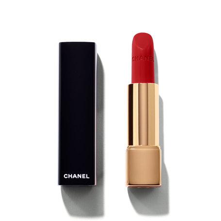 CHANEL Rouge Allure Intense Long-Wear Lip Colour - 104 Passion | @violetgrey