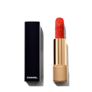 CHANEL Le Rouge Collection Rouge Allure Velvet Intense Long-Wear Lip Colour - Rouge Feu | @violetgrey