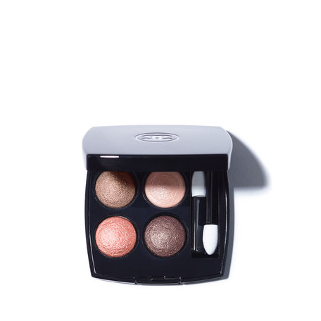 CHANEL Les 4 Ombres Multi-Effect Quadra Eyeshadow - 204 Tissé Vendôme | @violetgrey