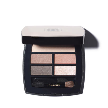 CHANEL Les Beiges Healthy Glow Natural Eyeshadow Palette - Medium | @violetgrey