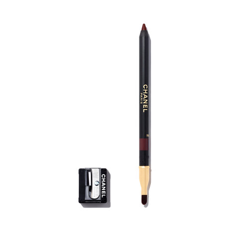 CHANEL Le Crayon Lèvres Longwear Lip Pencil - 194 Rouge Noir | @violetgrey