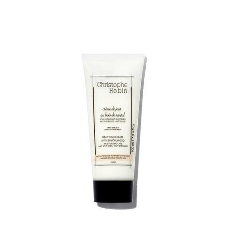 CHRISTOPHE ROBIN Moisturizing Hair Cream SPF 8 | @violetgrey