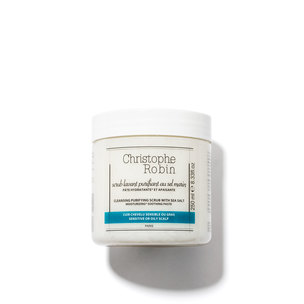 CHRISTOPHE ROBIN Cleansing Purifying Scrub With Sea Salt - 8.33 oz | @violetgrey