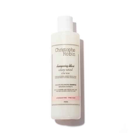 CHRISTOPHE ROBIN Delicate Volumizing Shampoo With Rose Extracts - 8.33 oz | @violetgrey