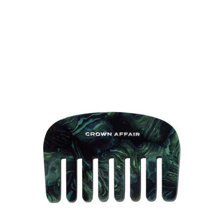 CROWN AFFAIR The Comb No. 001 - Green Malachite | @violetgrey