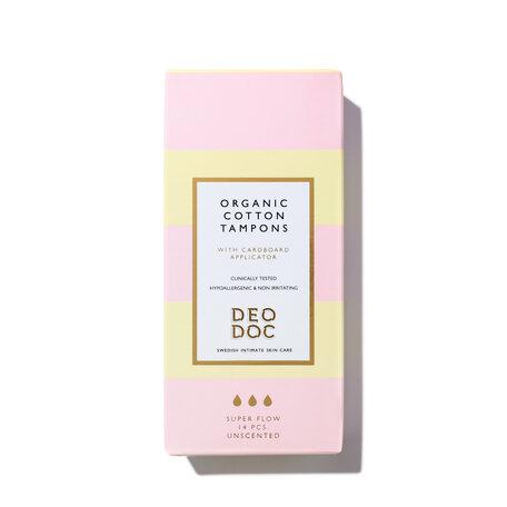 DEODOC Organic Cotton Tampons - Super | @violetgrey