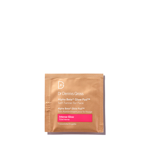 DR. DENNIS GROSS Alpha Beta® Glow Pad™ Self-Tanner for Face Intense Glow | @violetgrey