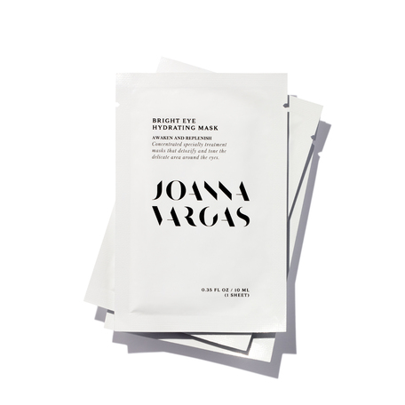 JOANNA VARGAS Bright Eye Hydrating Mask | @violetgrey