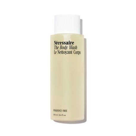 NÉCESSAIRE The Body Wash - With Niacinamide - Fragrance-Free | @violetgrey
