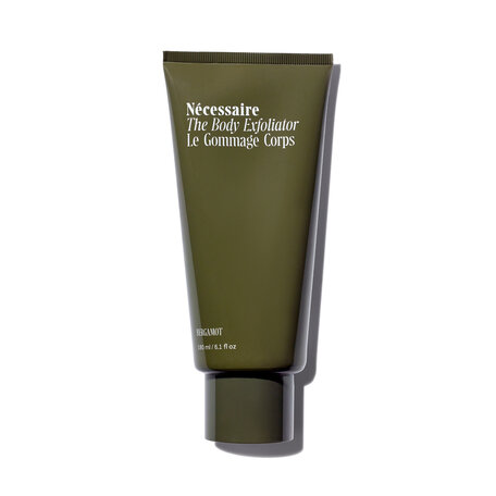 NÉCESSAIRE The Body Exfoliator - With Bamboo Charcoal - Bergamot | @violetgrey