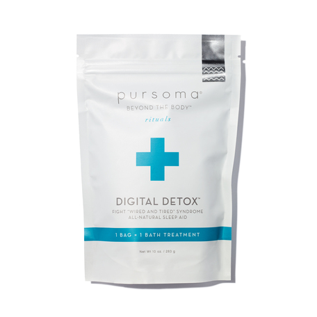 PURSOMA Digital Detox Bath | @violetgrey