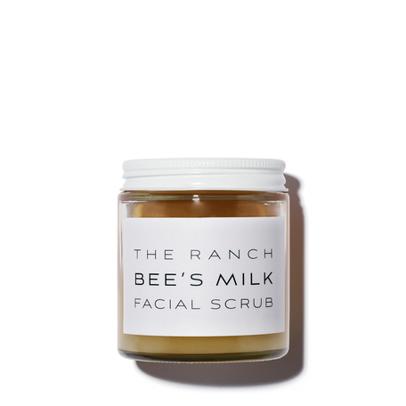 THE RANCH Bee's Milk Facial Scrub | @violetgrey