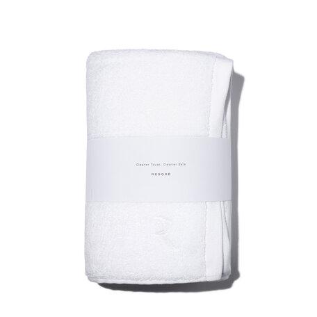RESORÈ Body Towel - White | @violetgrey