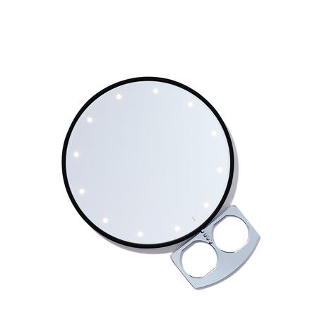 RIKI LOVES RIKI Riki Super Fine Handheld Mirror - Black | @violetgrey