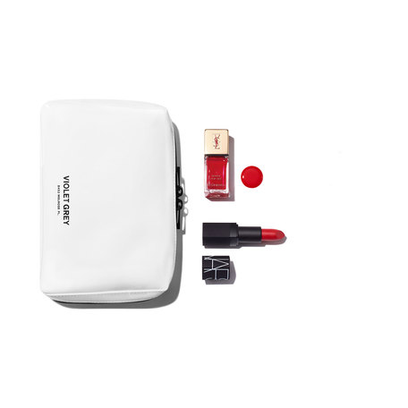 VIOLET GREY GIFTS The Crimson Red Matching Lips & Tips Set | @violetgrey