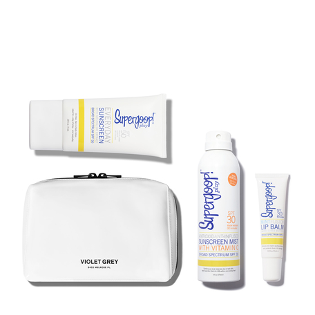 SUPERGOOP! The Everyday Suncare Set | @violetgrey