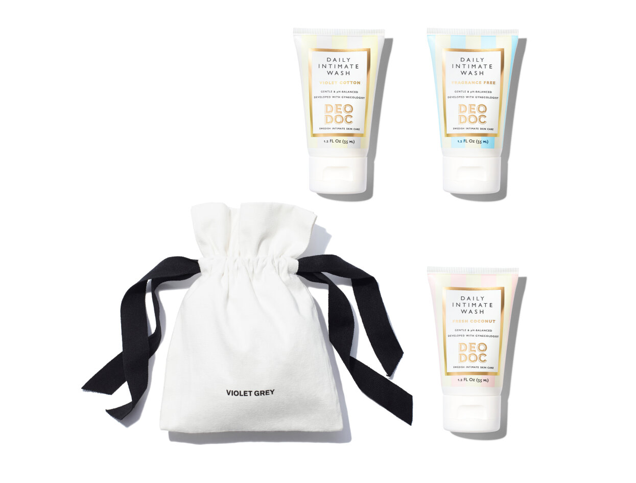 DeoDoc - Intimate Wash Travel Set