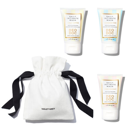 DEODOC Intimate Wash Travel Set | @violetgrey